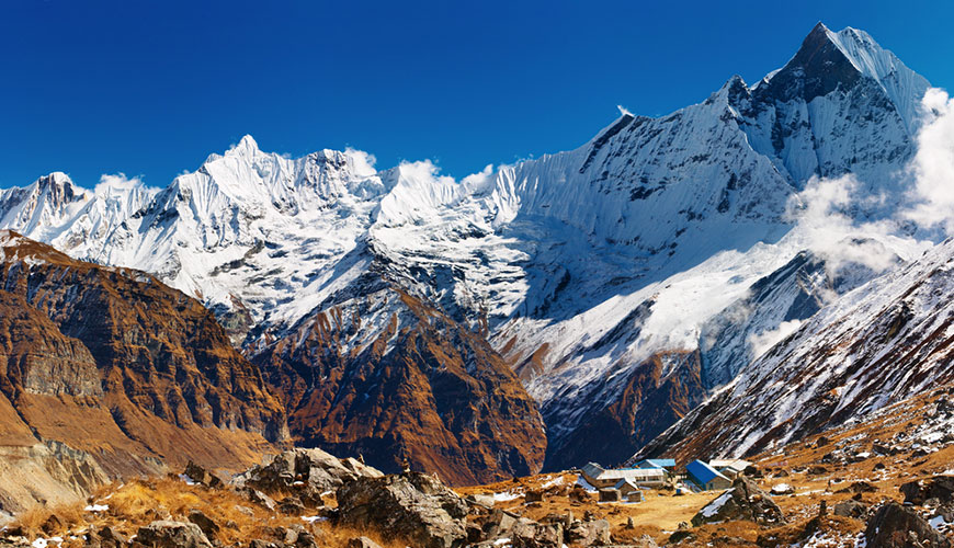 Annapurna Base Camp  Trek via Ghandruk