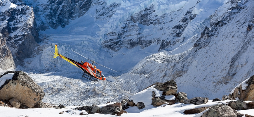 Everest Base Camp Trek with Helicopter